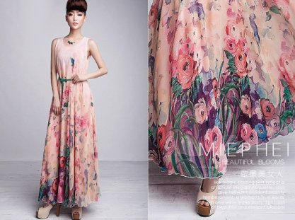 Bridesmaid dress, by ChineseHut on etsy.com