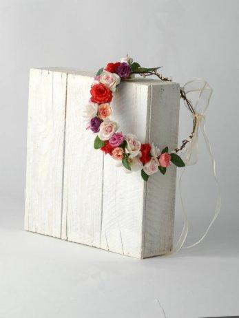 Floral crown, by VelvetTeacup on etsy.com