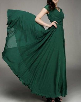 Bridesmaid dress, by Fashiondress1 on etsy.com