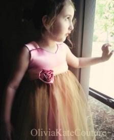 Flower girl dress, by OliviaKateCouture on etsy.com