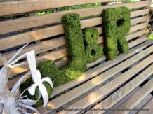 Moss letters, by teresab123 on etsy.com