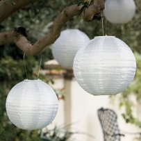 Paper lanterns, by PartySpin on etsy.com