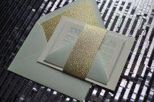 Wedding invitation, by JustInviteMe on etsy.com