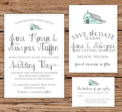 rustic – Etsy Rustic Wedding Invitations