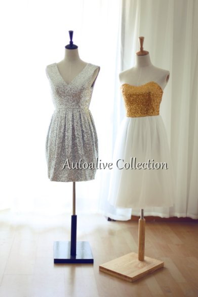 Bridesmaid dresses, by autoalive on etsy.com