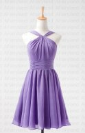 Lilac bridesmaid dress, by AFairyland on etsy.com