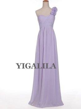Lavender bridesmaid dress, by YIGALILA on etsy.com