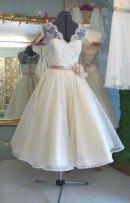 Reception dress, by HappyBegins on etsy.com