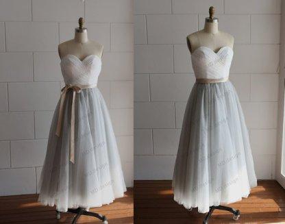 Reception dress, by misdress on etsy.com