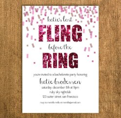 Bachelorette party invitation - www.etsy.com/shop/PrettyMyParty