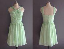 Mint bridesmaid dress - www.etsy.com/shop/XOXOdress