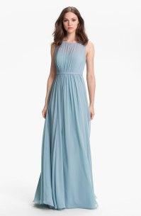 Jenny Yoo 'Vivienne' Pleated Chiffon Gown - nordstrom.com