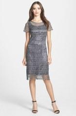 Marina Embellished Lace Sheath Dress - nordstrom.com