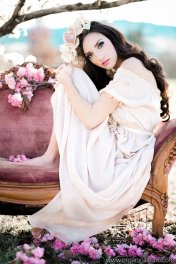 Silk chiffon wedding dress (US$600) - www.etsy.com/shop/MelissaRenePrice