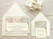 Travel wedding theme invitation - www.etsy.com/shop/merrymint