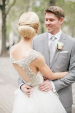 Chic low updo {via theknot.com}