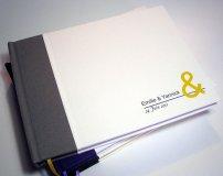Custom guest book - www.etsy.com/shop/TransientBooks