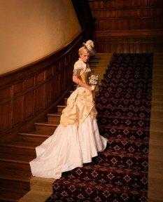 Steampunk wedding dress - www.etsy.com/shop/OohLaLaBoudoir