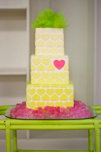 Neon wedding cake inspiration {via darrahdejour.com}