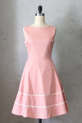 Pale pink bridesmaid dress - www.etsy.com/shop/FleetCollection