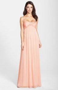 Adrianna Papell peach dress - nordstrom.com