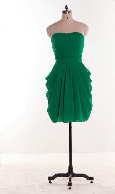 Green bridesmaid dress - www.etsy.com/shop/LovingDresses