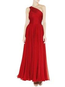 Red bridesmaid dress - www.etsy.com/shop/ElliotClaireDresses