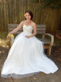 Tulle wedding dress (US$350) - www.etsy.com/shop/nikgrr12