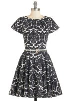 Like a lucky lady dress in damask, from modcloth.com