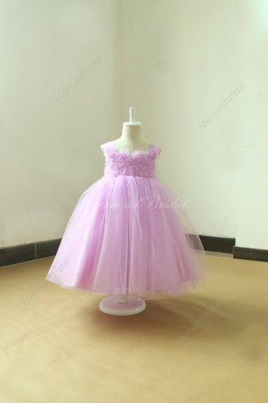 Lilac flower girl dress - www.etsy.com/shop/MermaidBridal