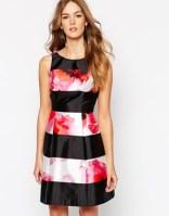 Coast Milana dress in floral stripe - asos.com