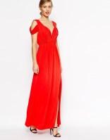 ASOS Drape Cold Shoulder Maxi Dress, from asos.com