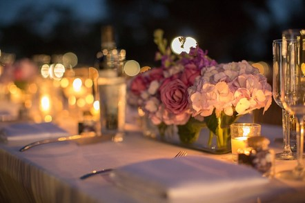 Lavender and gold table setting inspiration {via theeverylastdetail.com}