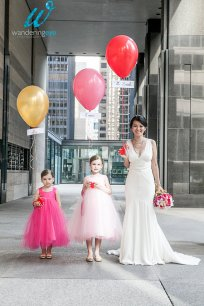 Pink flower girl dresses - www.etsy.com/shop/OliviaKateCouture