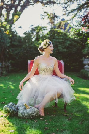 Sequin and tulle reception dress/short wedding dress - www.etsy.com/shop/PureMagnoliaCouture