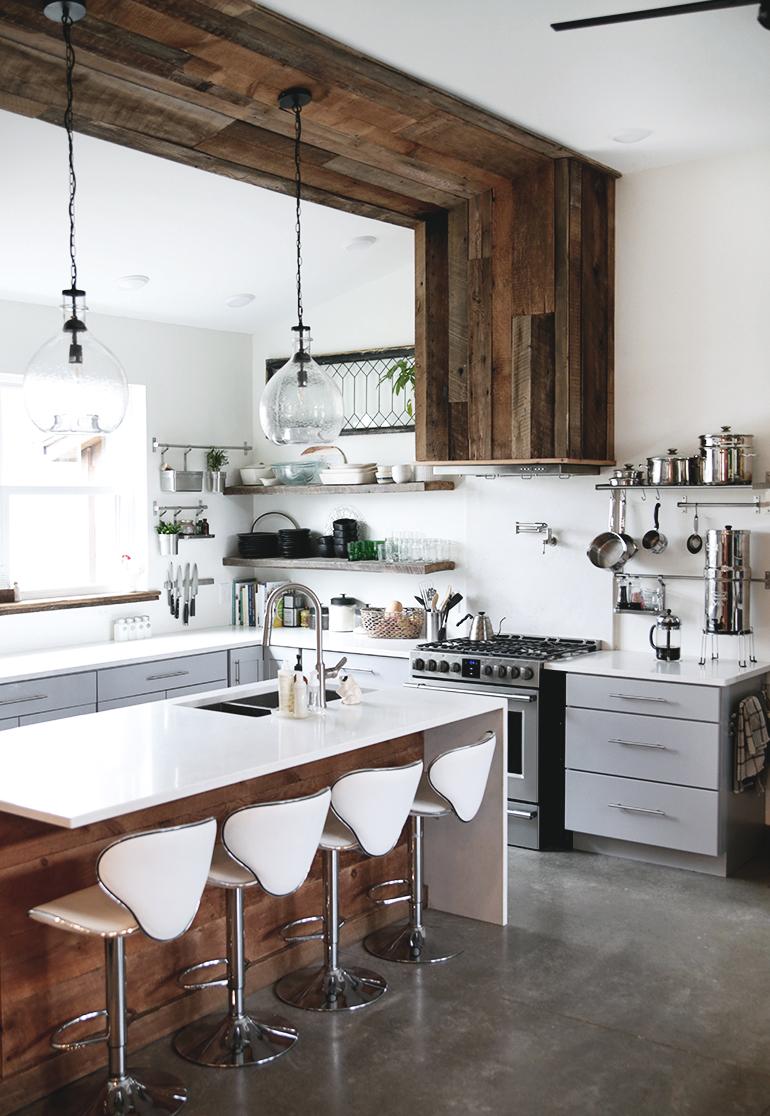 Modern Farmhouse Kitchen - The Merrythought