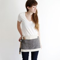 DIY Waxed Canvas Tool Apron