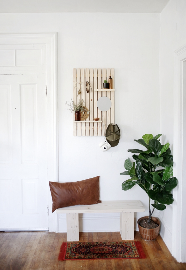Simple Entryway Makeover The Merrythought