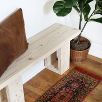 DIY Simple Wooden Bench