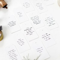 DIY Quote Gift Tags