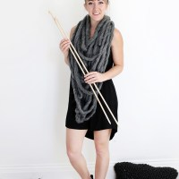 DIY Yarn & Knitting Needles Costume