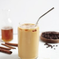Iced Cinnamon Honey Latte