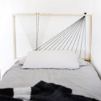 DIY String Headboard