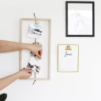 DIY Open Photo Frame