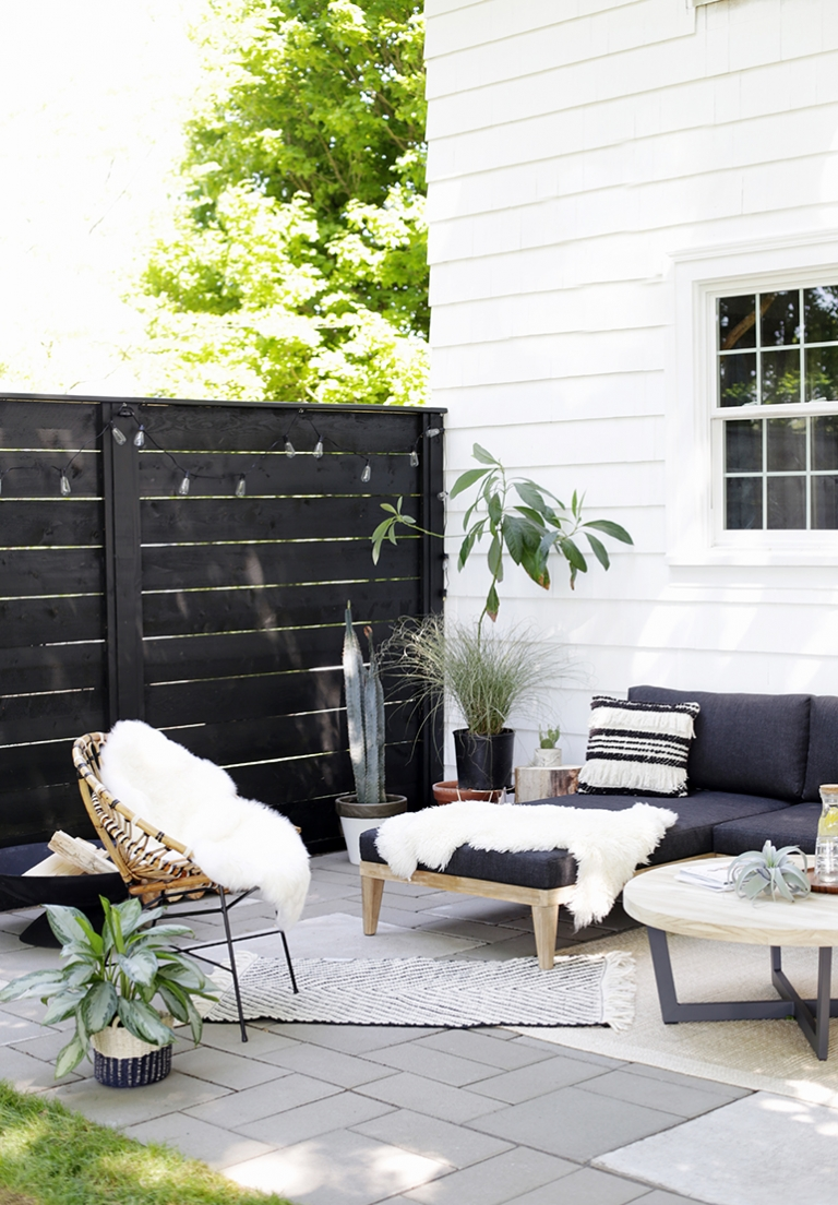 modern patio reveal the merrythought