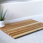 Diy Cedar Bath Mat The Merrythought