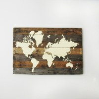 Pallet Board World Map
