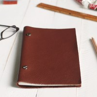 DIY Leather Sketchbook