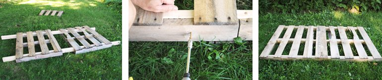 Pallet Swing DIY | The Merrythought