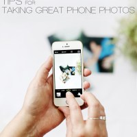 10 Tips for Taking Great Phone Photos